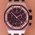 Audemars Piguet Lady Royal Oak Offshore chronograph PLUM