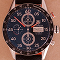 Tag Heuer Carrera Chronograph Day-Date orange