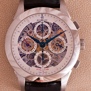 Perrelet Skeleton Chrono Dual Time