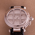 Cartier Pasha Whitegold Grille Diamonds 2373