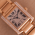 Cartier Tank Francaise GM automatic Diamonds
