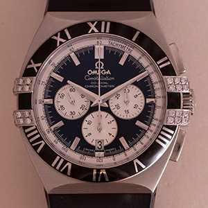 Omega Double Eagle Co-Axcial Chronograph