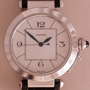 Cartier Pasha 42mm Automatic Whitegold
