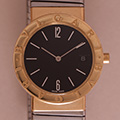 Bulgari Tubogas Large Gold-Steel