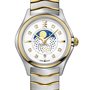 Ebel Wave Lady Moonface