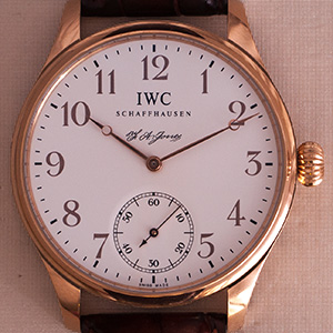 IWC Portugieser F.A. Jones limited