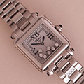 Chopard Happy Sport Classic Square 7 diamonds
