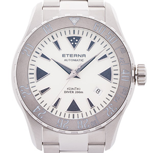 Eterna KonTiki Diver Cool Grey Ceramic