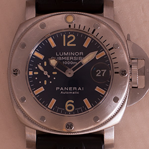 Panerai Submersible 1000m Blue Dial