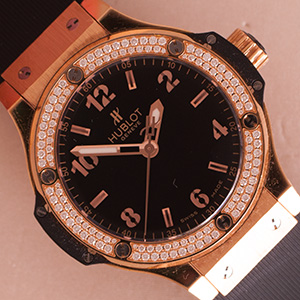 Hublot Big Bang Ladies 38mm Diamonds