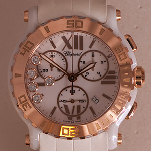 Chopard Happy Sport Chronograph LE Ceramic
