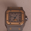Cartier Santos Galbee Ladies Moonface