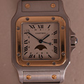 Cartier Santos Galbee Large Moonface