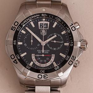 Tag Heuer Aquaracer Chronograph Big date