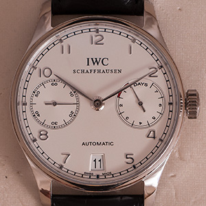 IWC Portuguese 7-days Platina Limited
