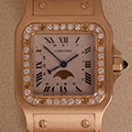 Cartier Santos Galbee Large Model Diamonds