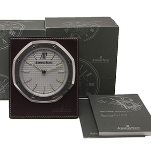 Audemars Piguet 8 days Royal Oak Table Clock