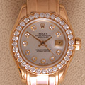 Rolex Pearlmaster MOP diamonds