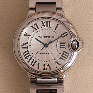 Cartier Ballon Bleu MM automatic