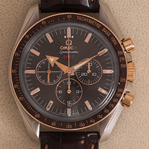 Omega Speedmaster Broad Arrow Chocolate 1957