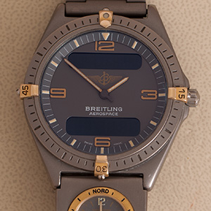 Breitling Aerospace Titanium-Gold UTC