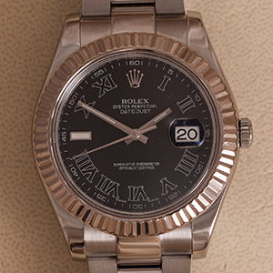 Rolex Datejust II Fluted