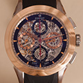 Perrelet Skeleton Chronograph Dual Time LE