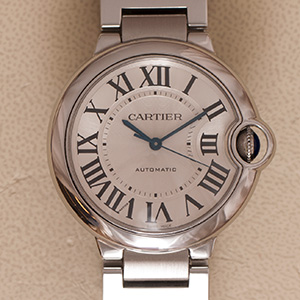 Cartier Ballon Bleu 36mm automatic 3284