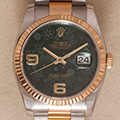 Rolex Datejust 36 Green Floral Dial