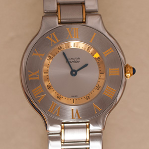 Cartier Must 21 New Generation Large Model