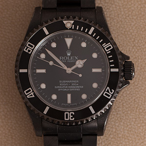 Rolex Submariner No Date PVD DLC
