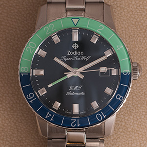 Zodiac Super Seawolf GMT Hodinkee Ltd