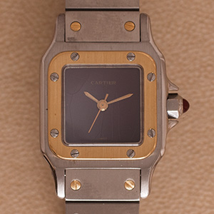Cartier Santos Karree Automatic Smal Model