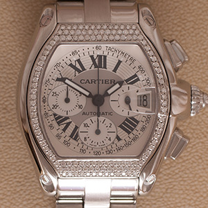 Cartier Roadster XL Chronograph Diamond