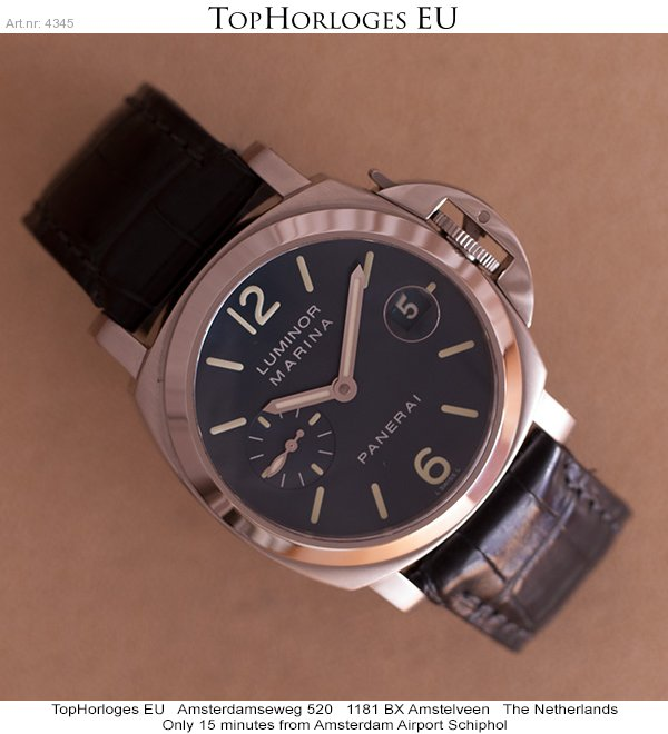 new arrival 3a74d c8b4e Panerai Luminor Marina 40mm PAM00119 - TopHorloges.EU ...